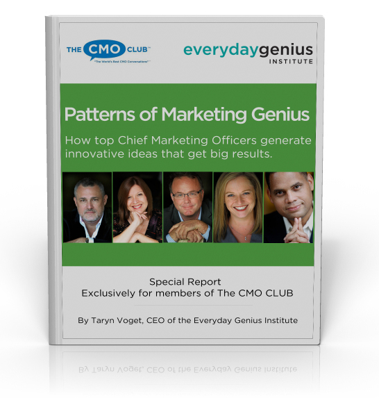 How Do CMOs Inspire Genius?